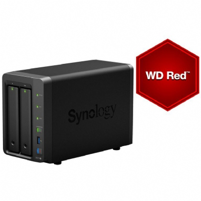 Synology DS718+, 2bay NAS (4TB)